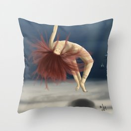 Mermaids are coming Throw Pillow