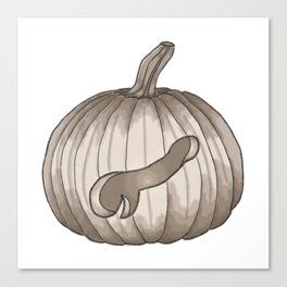 Jack-Off Lantern Canvas Print
