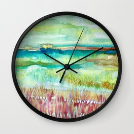 Birthday Spaces Wall Clock