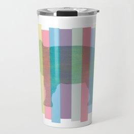 Color Elephant Travel Mug