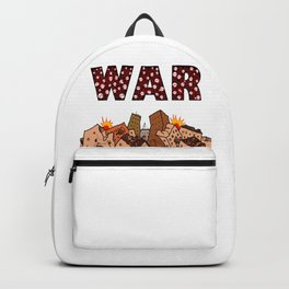 Civil War Bomb Destruction Backpack