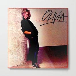Olivia Newton-John - Totally Hot - 1970s Metal Print