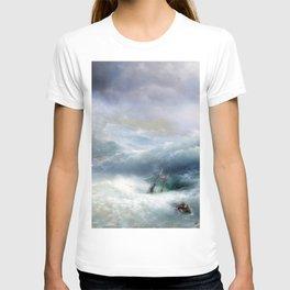 Ivan Aivazovsky - The Wave T-shirt