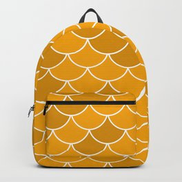 Gold Fish Scales Backpack