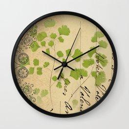 Botanical 1 Wall Clock