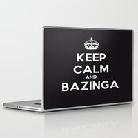 bazinga Laptop & iPad Skins featuring Bazinga by S.YassinPhotography