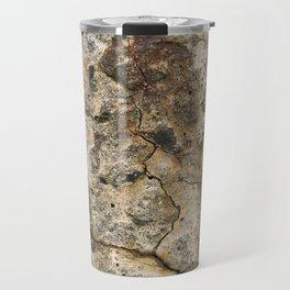 Cracked Concrete Travel Mug