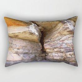 Crevice Rectangular Pillow