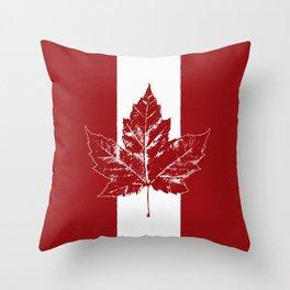 Cool Canada Souvenirs Throw Pillow