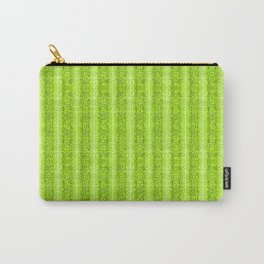 Green Snake Skin Animal print Wild Nature Carry-All Pouch
