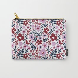 Floral forest Carry-All Pouch