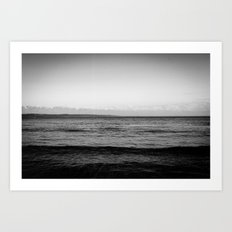 Unforgiving Sea Art Print