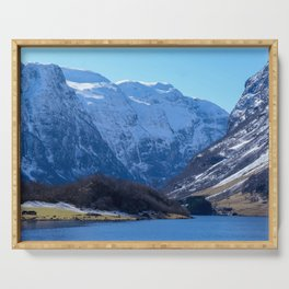 Flam, Norway Serving Tray