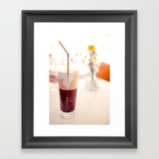 Time for Coffee Framed Art Print