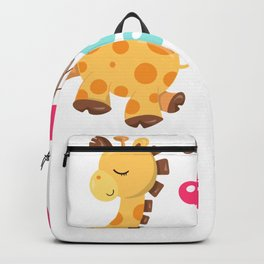 Giraffe Quotes If You Can Dream It You Can Do It Backpack
