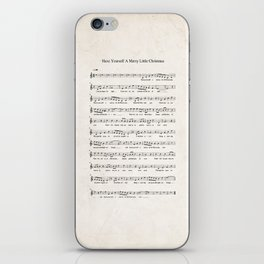 Have Yourself a Merry Little Christmas iPhone Skin