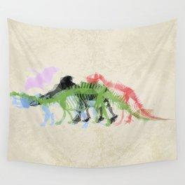 Mightymorphinosaurus Wall Tapestry