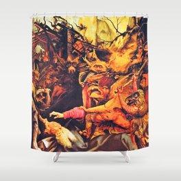 The creatures that haunt Shower Curtain