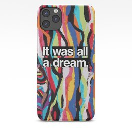The Dream Roll 2016 Poster iPhone 11 case