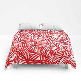 Redline (White version) Comforters