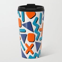 90s Retro Memphis Pattern Travel Mug