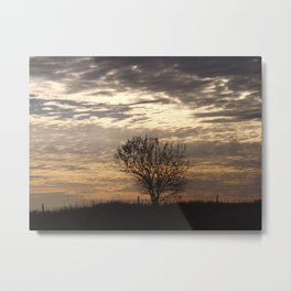 Serenity At Sunset Metal Print