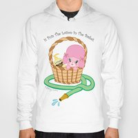 silence of the lambs Hoodies featuring It puts the lotion in the basket. // Silence of the Lambs by Dueling Doodlers
