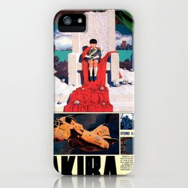 Manga 05 iPhone Case