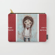 Big Sweater- by Diane Duda Carry-All Pouch