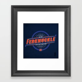 Ferknuckle-Edmonton Framed Art Print