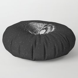 Moon Blinked Floor Pillow