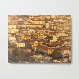 Florence in a Haze Metal Print