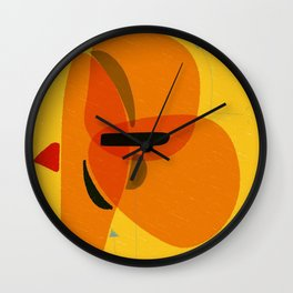 Horizons | Happy art | Wall art Wall Clock