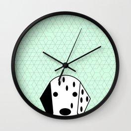 Pop Dog Dalmatian Wall Clock