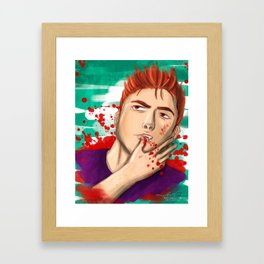 That Actually Hurt Framed Art Print