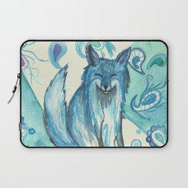 Fox in blue Laptop Sleeve