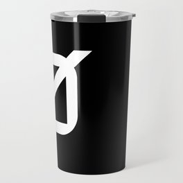Agender Pride Flag Travel Mug
