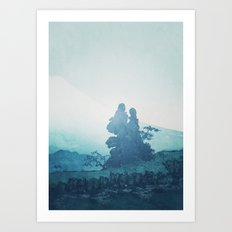 Mist under Uniki Art Print