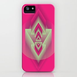 Pink Descent iPhone Case