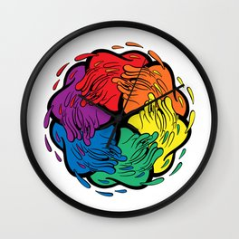 Pride Love Movement Wall Clock