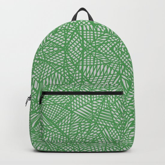 Ab Lace Green Backpack