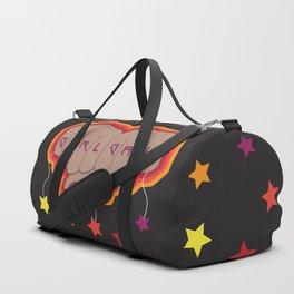 Girl Gang Star Fists Feminist Design Duffle Bag