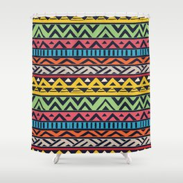 African pattern No2 Shower Curtain