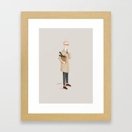 Harry Palmer Framed Art Print