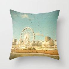 Brighton Wheel Throw Pillow