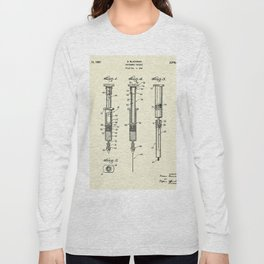 Hypodermic Syringe-1947 Long Sleeve T-shirt