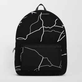Connecticut State Road Map Backpack