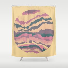 TOPOGRAPHY 010 Shower Curtain