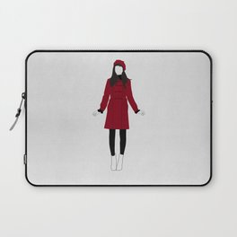 RED GIRL Laptop Sleeve