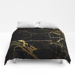 Black & Gold Comforters